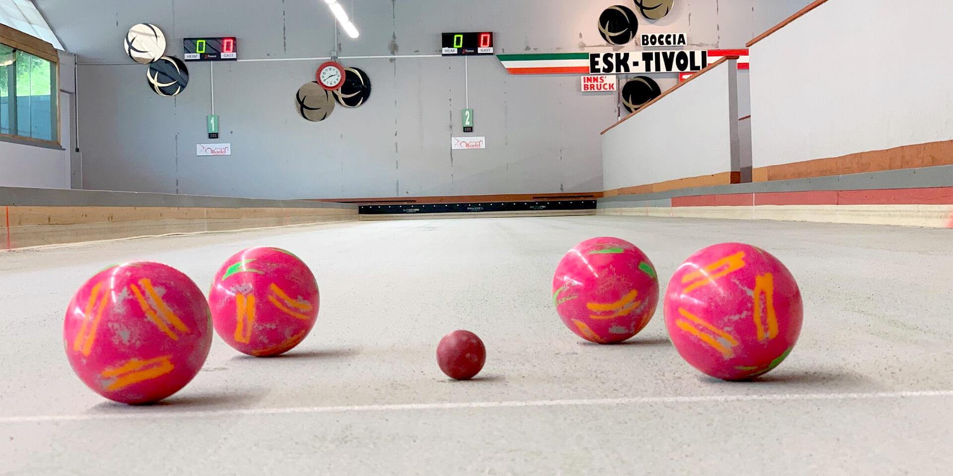 Boccia-Turnier 2020 beim ESK-Tivoli