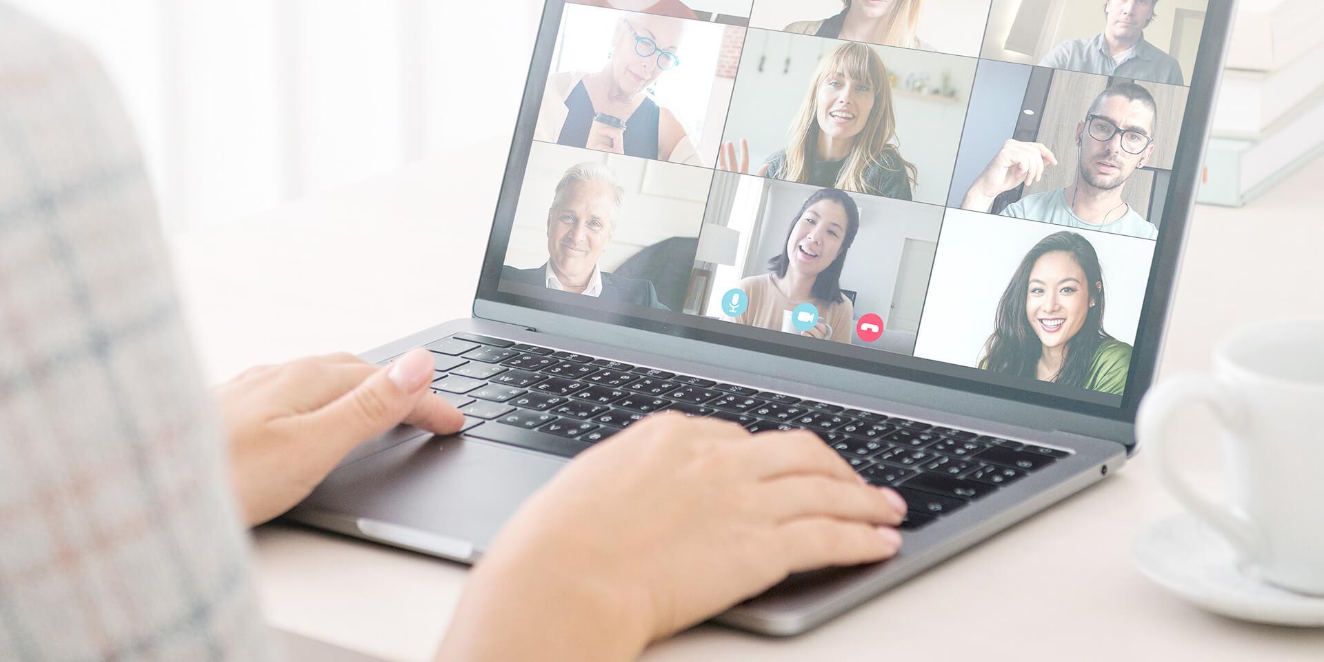 Online-Gruppentreffen & Videokonferenz